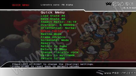 HB]RetroArch v1 7 4: Emulateur multi plate formes : Homebrews PS3