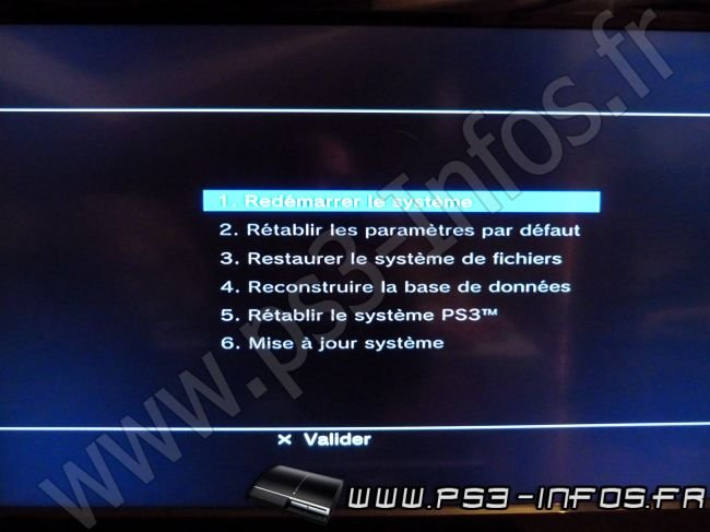 how to put ps3 safe mode